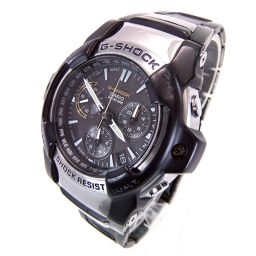 CASIO カシオ GS-1000D G-SHOCK タフソーラー 電波時計 腕時計 145.8g ステンレススチール メンズ【005】