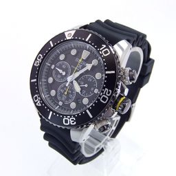 SEIKO セイコー SSC021P1 ダイバーズ プロスペックス ソーラー 腕時計 108g ステンレススチール/ポリウレタン メンズ【006】