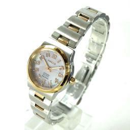 CITIZEN シチズン E031-S039339 Wicca ウィッカ 腕時計 ステンレススチール レディース
