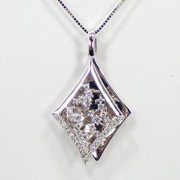 SELECT JEWELRY  ネックレス 9.4g K18WG ダイヤモンド0.50ct レディース【002】