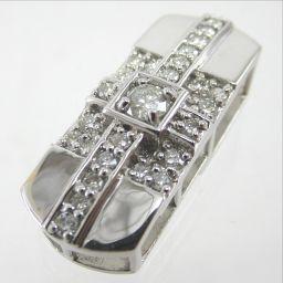 SELECT JEWELRY  ペンダント 5.1g K18WG ダイヤモンド0.53ct レディース【1811】