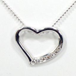 SELECT JEWELRY Necklace 5.1g K18WG Diamond 0.162ct Ladies [002]