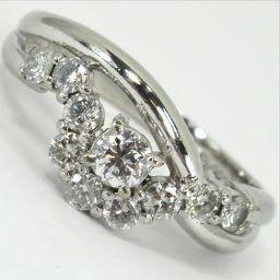 SELECT JEWELRY  リング・指輪 4g Pt900 ダイヤモンド0.52ct 11号 レディース【906】