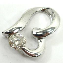 SELECT JEWELRY Pendant 1.9g K18WG Diamond 0.32ct Women 【907】