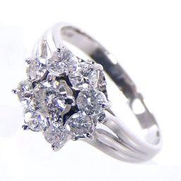 SELECT JEWELRY ring · ring 4.3g Pt 900 diamond 0.75ct 14.5 ladies 【1809】 【20mrt】