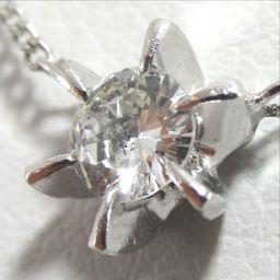 SELECT JEWELRY  ネックレス 2.0g pt850 ダイヤモンド0.17ct レディース