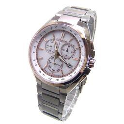CITIZEN シチズン CB5044-71A アテッサ ソーラー電波 腕時計 89.6g チタン/サファイアガラス メンズ【109】
