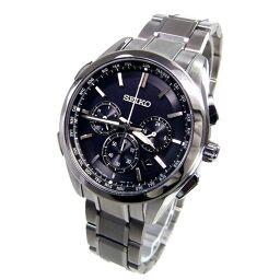 SEIKO Seiko SAGA197 Brights Solar Radio Wrist Watch 93.0g Titanium Men [109]