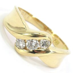 SELECT JEWELRY Ring / Ring 3.0g K18 Diamond 0.30ct 11.5 Ladies [105]