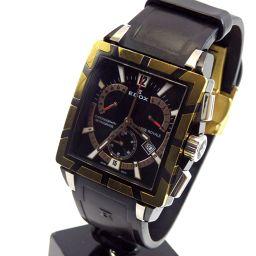 EDOX エドックス クロスロイヤル 腕時計 ステンレススチール/ラバー メンズ