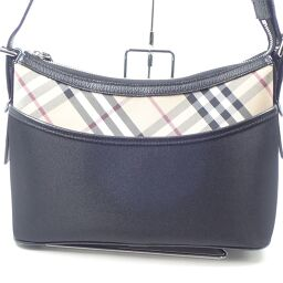 BURBERRY Burberry Shoulder Bag PVC Ladies [001]