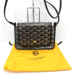GOYARD Goyal Pouch Wallet PLUMET Shoulder Bag 141g PVC Canvas Ladies [004]