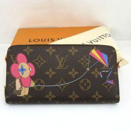 LOUIS VUITTON Louis Vuitton M69054 Zippy Wallet Japan Limited Long Wallet (with coin purse) Monogram Canvas / Leather Women's [911]