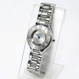 CARTIER カルティエ マスト21ヴァンティアン 腕時計 59.2g ステンレススチール レディース【009】