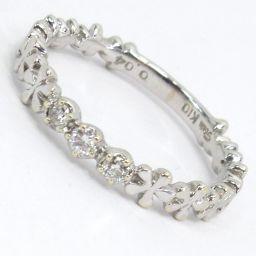 STAR JEWELRY スタージュエリー ピンキー リング・指輪 1.0g k10/ ダイヤモンド0.04ct 1号 レディース【008】