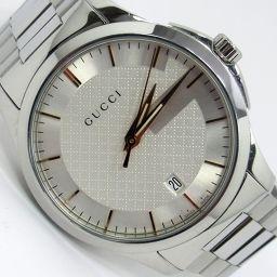 GUCCI グッチ YA126442 Gタイムレス 腕時計 106.2g SS メンズ【002】