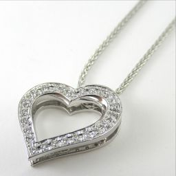 NINA RICCI ニナ・リッチ ネックレス 5.8g K18WG ダイヤモンド0.14ct レディース【1812】