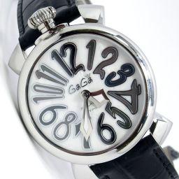 Gaga Milano ガガ・ミラノ 5020 マヌアーレ 腕時計 SS メンズ