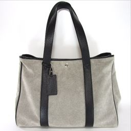 United Arrows Tote Bag Suede / Leather Unisex
