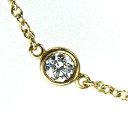 TIFFANY&Co. ティファニー バイザヤード ブレスレット 1.0g 750/ダイヤモンド ダイヤ レディース