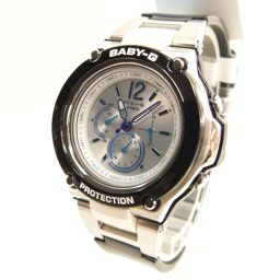 CASIO カシオ BAG-1400-1BJF Baby-G トリッパー ソーラー電波 腕時計 45g 樹脂系/ステンレススチール レディース