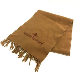 Vivienne Westwood Vivienne Westwood Men's Ladies Simple Fashion Accessories Scarf Brown Unisex