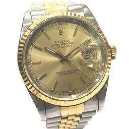 ROLEX ロレックス  16233 デイトジャスト 腕時計 SS/YG シルバー×ゴールド メンズ【中古】