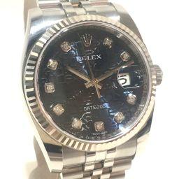ROLEX ロレックス   116234G メンズ腕時計 デイトジャスト 10Pダイヤ 腕時計 K18WG/SS ホワイトゴールド メンズ