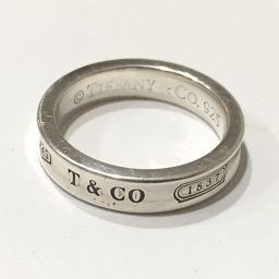 TIFFANY&Co. ティファニー  1837 ナロー リング・指輪 シルバー925 8号 シルバー レディース【中古】