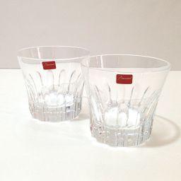 Baccarat バカラ   2104384 タンブラー ペア ロックグラス エトナ グラス クリスタルガラス クリア ユニセックス