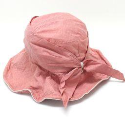 FURLA フルラ  ハット 帽子 ピンク レディース【中古】