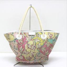 Emilio Pucci Emilio Pucci Shoulder Bag Petit Pattern Flower Pattern Floral Handbag Handbag Pile Multicolor Women