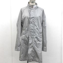 MONCLER モンクレール  コート ナイロンジャケット グレー メンズ【中古】
