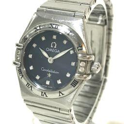 OMEGA オメガ   レディース腕時計 コンステレーション ミニマイチョイス 12Pダイヤ 腕時計 SS シルバー レディース