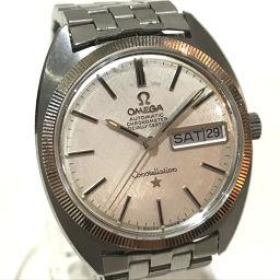 OMEGA オメガ   168.029 メンズ腕時計 コンステレーション クロノメーター デイデイト 腕時計 SS シルバー メンズ