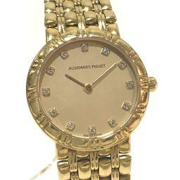 AUDEMARS PIGUET Audemars Piguet Ladies Watch K18YG Solid Gold 12P Diamond Watch K18YG / Yellow Gold Ladies