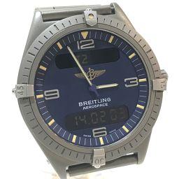 BREITLING ブライトリング   E56060 メンズ腕時計 エアロスペース 腕時計 チタン シルバー(グレー) メンズ