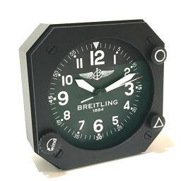 BREITLING ブライトリング   テーブルクロック 非売品 置時計 SS ブラック ユニセックス