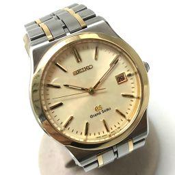 SEIKO セイコー   8N65-9000  グランドセイコー  腕時計//18KT×SS  シルバー