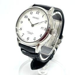 SEIKO Seiko 6R15-02Z0 Presage Hollow Dial Date Automatic Watch SS Men's Silver