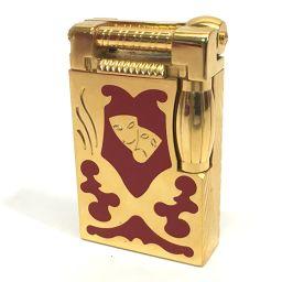Dupont デュポン  ガスライター 2500個限定品  テアトロ アルルカン ハンマーガスライター ライター 真鍮 ゴールド ユニセックス【中古】