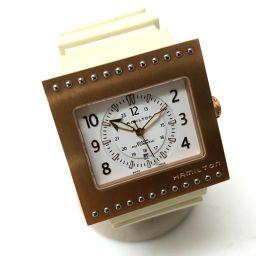 HAMILTON ハミルトン   H795450 コードブレーカー 腕時計 チタン/ラバーベルト ゴールド メンズ