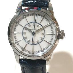 HAMILTON ハミルトン   H403110 レディース腕時計 レイルロード 12Pダイヤ 腕時計 SS/革ベルト シルバー レディース