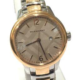 BURBERRY バーバリー  BU10117 コンビ レディース腕時計 腕時計 SS×GP ピンクゴールド レディース【中古】