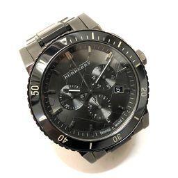BURBERRY バーバリー   BU9381 メンズ腕時計 クロノグラフ デイト 腕時計//SS ブラック メンズ