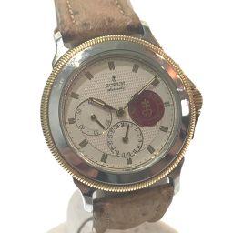 CORUM コルム   74.111.21 メンズ腕時計 メカニック 腕時計 SS/革ベルト ブラウン メンズ