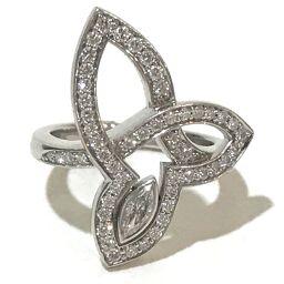 HARRY WINSTON ハリーウィンストン   FRDPMQRFL-047 ジュエリー リリークラスター リング リング・指輪 Pt950/ダイヤモンド 5号 プラチナ レディース