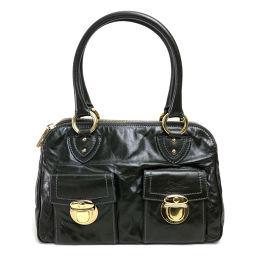MARC JACOBS Shoulder Bag Tote Bag Handbag Shoulder Bag Bag Handbag Leather Dark Khaki Ladies