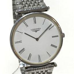 LONGINES ロンジン   L4.635.4 メンズ腕時計 グランドクラシック 腕時計 SS シルバー メンズ