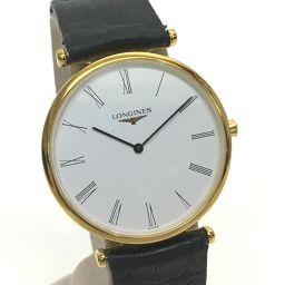 LONGINES ロンジン   L4.709 ボーイズ腕時計 グランドクラシック 腕時計 GP/レザー ゴールド メンズ